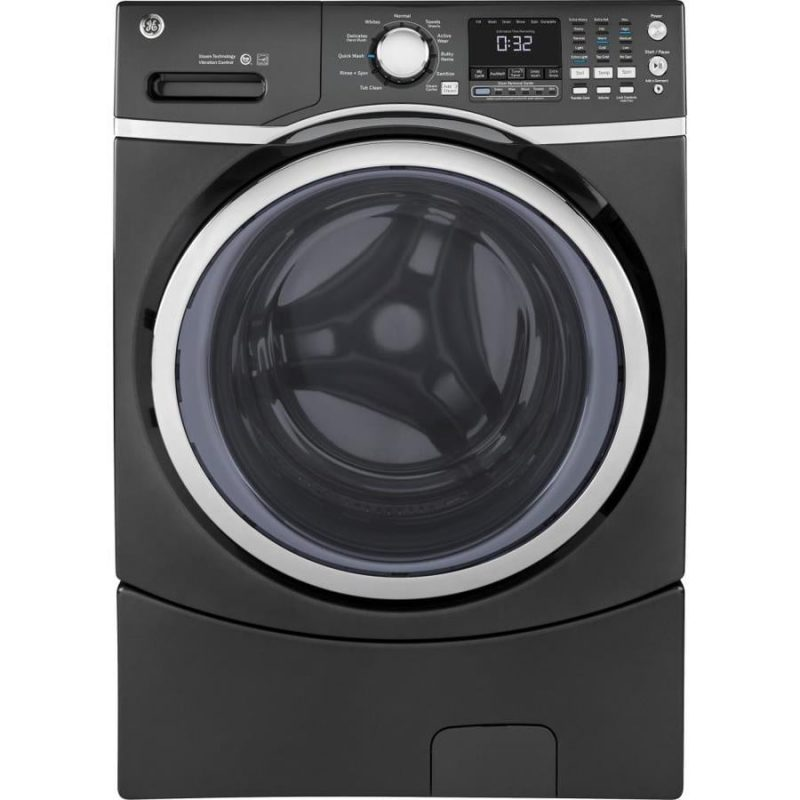 Diamond Gray GE Washer