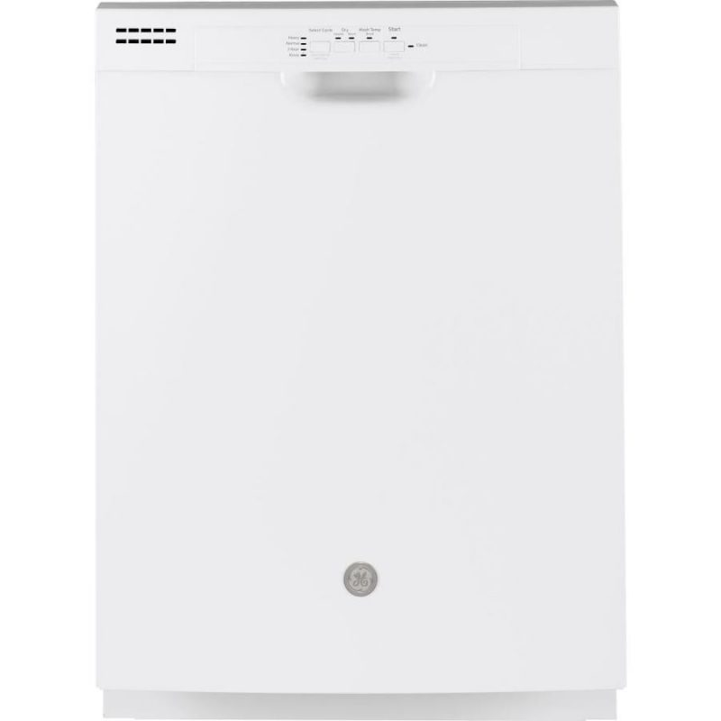 White GE Dishwasher