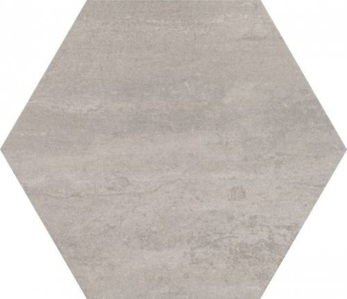 Concrete Moka Hexagon Porcelain Tile