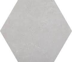 Traffic Light Grey Hexagon Porcelain Tile