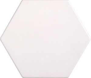 Bianco Hexagon Porcelain Tile