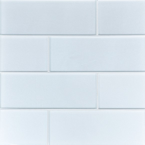 Artic Glimmer Glass Tile