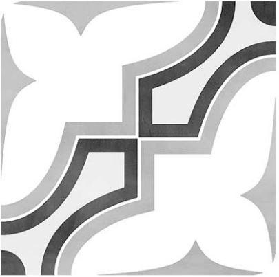 """6x6"""" Porcelain Deco Tile - Tie"""