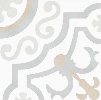 """6x6"""" Porcelain Deco Tile - Kali Chic"""