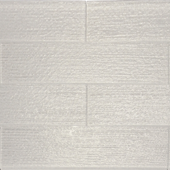 Linen Ice White Glass Tile