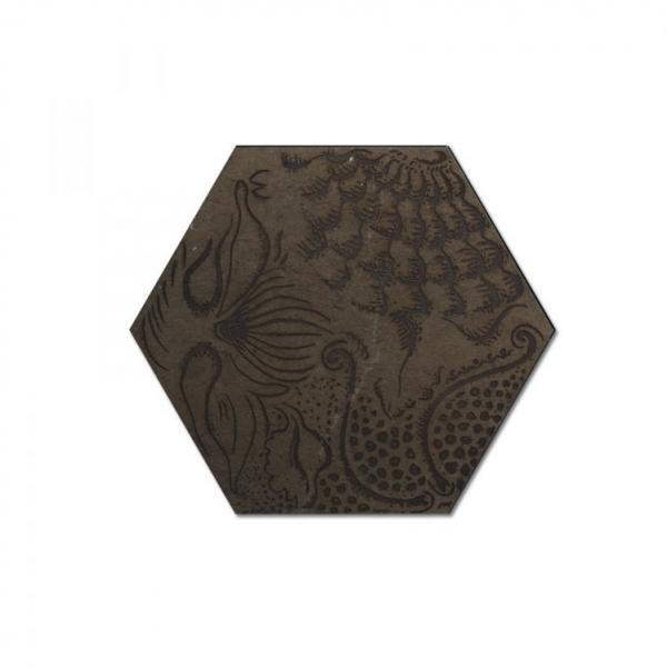 Engraved Hexagon
