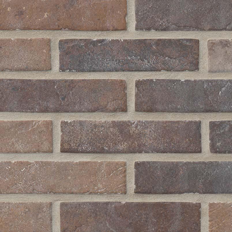 """2x10"""" Red Brick Porcelain Tile"""
