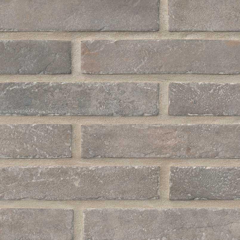 "2x10"" Taupe Brick Porcelain Tile"
