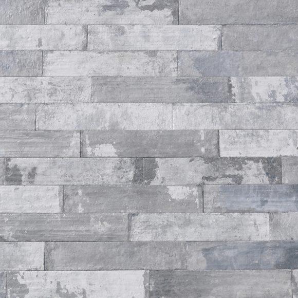 """3x16"""" Ash Brick Porcelain Tile"""
