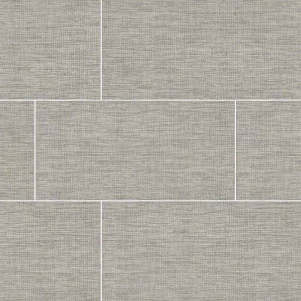 La Grey Linen Look Porcelain Tile