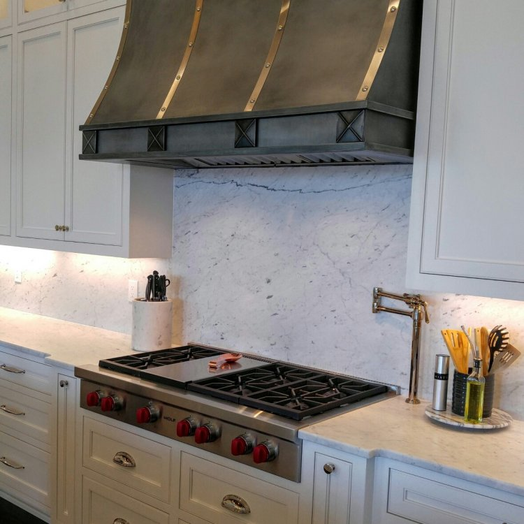 Carrara Marble Back Splash