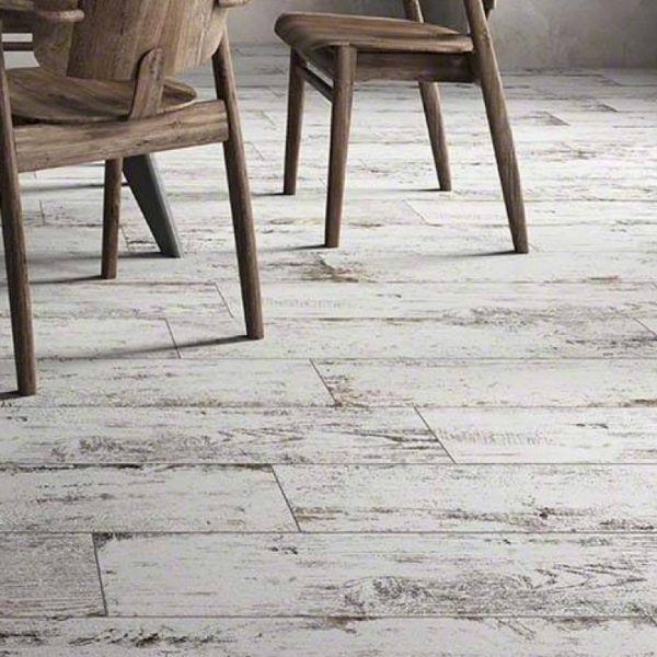 White wash Rustic Porcelain 8x368""