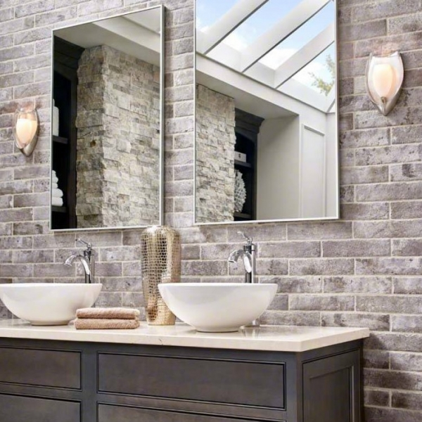 Taupe Brick Look Porcelain