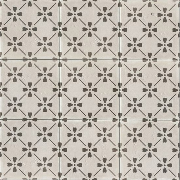 12x12 and 12x24 Graphite Starburst Spanish Deco Tile $3.99 PSF