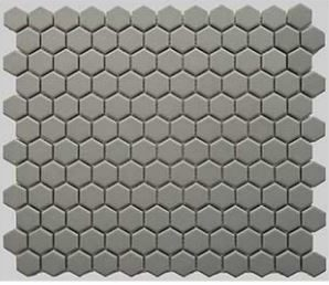 1 Buckhead Grey Matte Hexagone