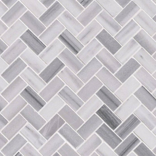 Marmaray Marble Herringbone