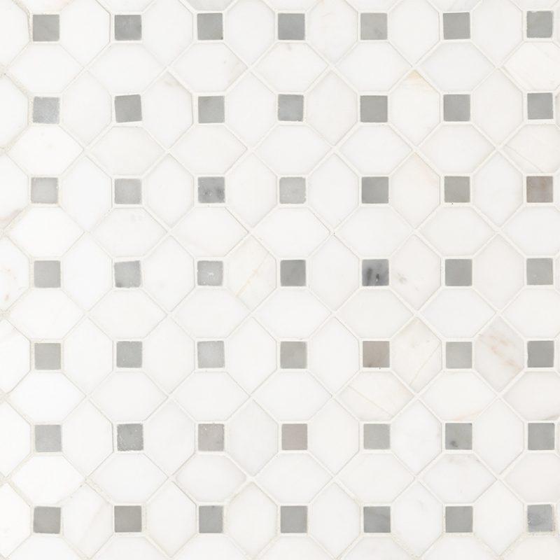 Bianco Dolomiti Diamond Dot Polished
