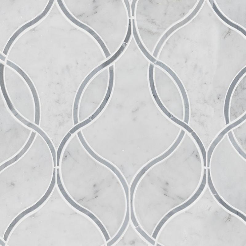 Carrara-White-Ogee