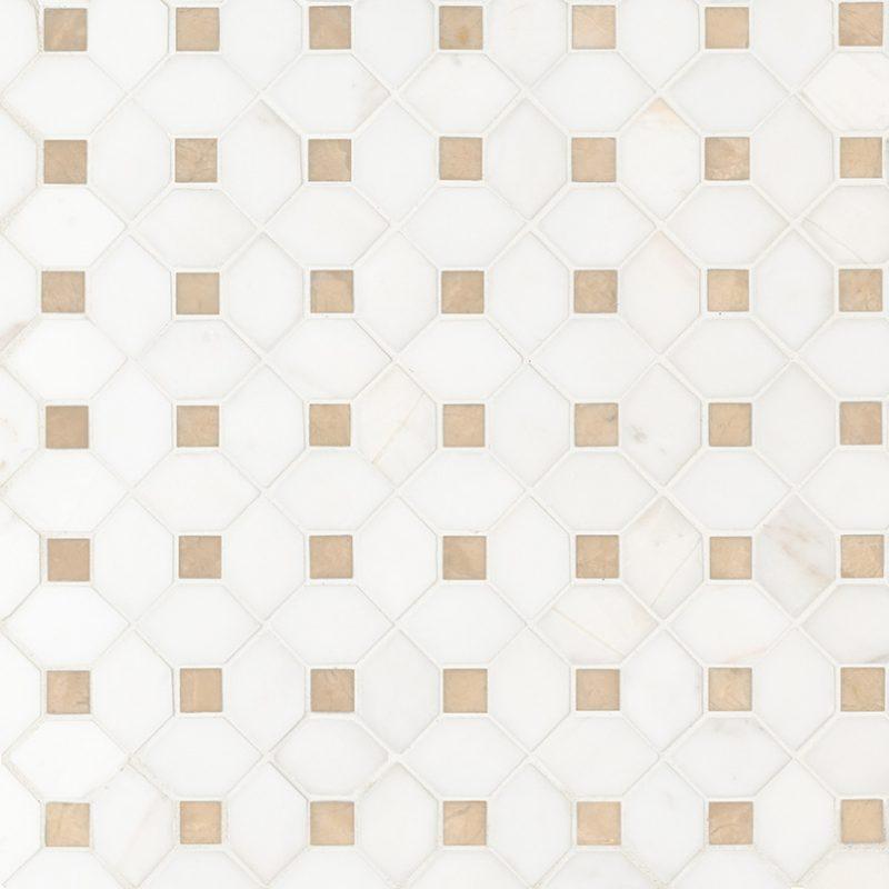 Cream Dot Bianco Dolomite Polished