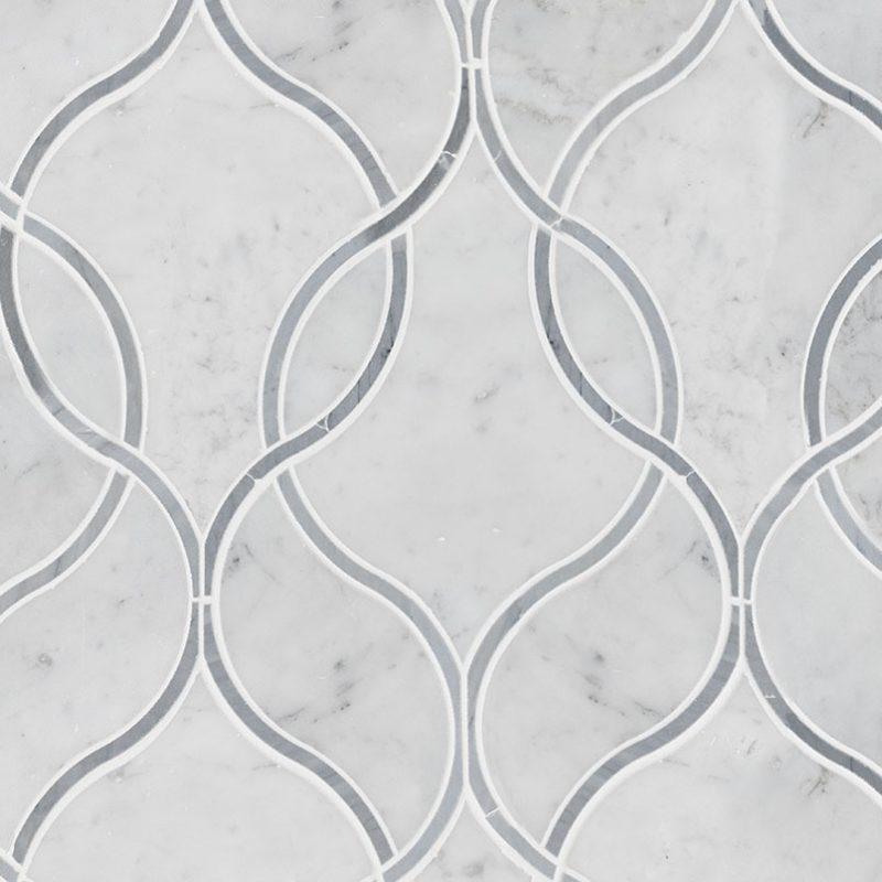 Elipsis White Carrara Polished