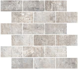 Grey Brick Mosaic