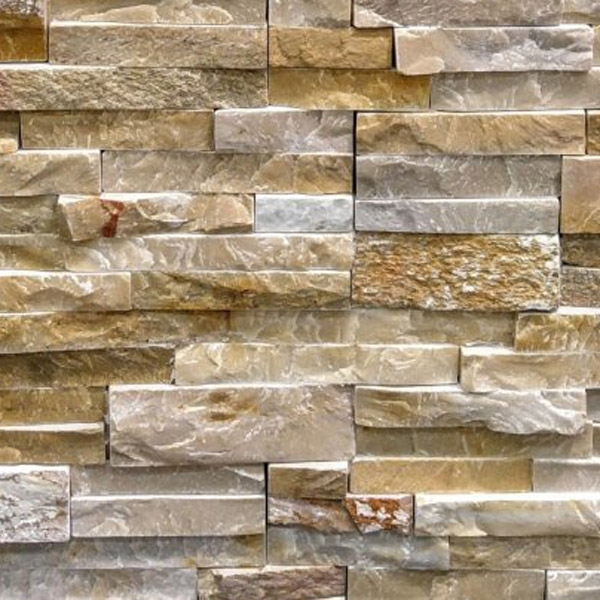 Honey-Gold-Quartzite-Stacked-Stone-Splitface-Finish