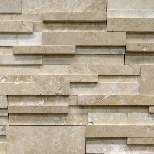 Ivory-Travertine-Stacked-Stone-Honed-Finish