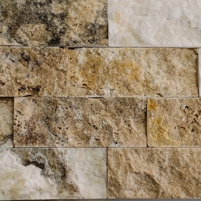 Philly Travertine Stacked Stone