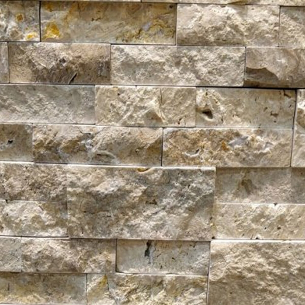 Asian-Ivory-Travertine-Stacked-Stone-Splitface-Finish