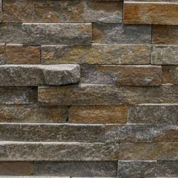 Brown-Quartzite-Stacked-Stone-Splitface-Finish