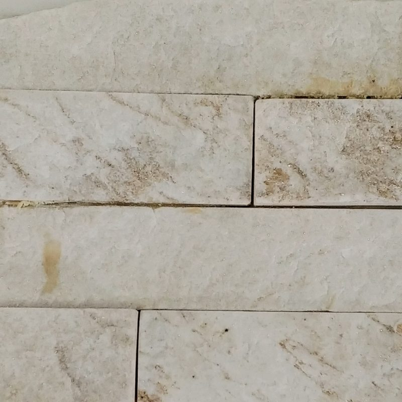 Dynasty White  Stacked Stone