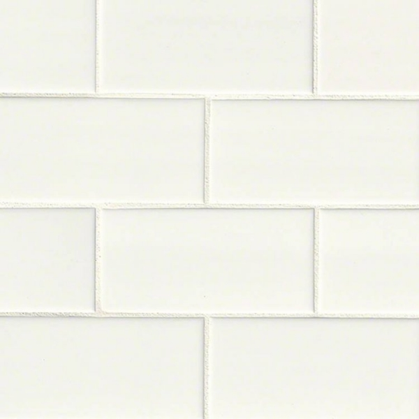 3x6 White Subway Tile