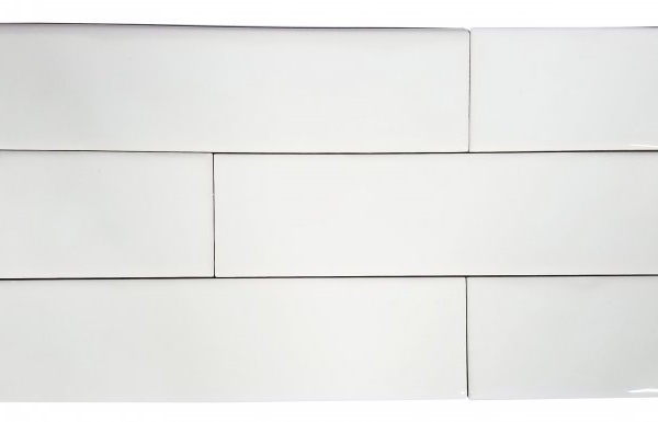 2x8 Chelsea White Subway Tile