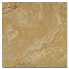 13 Gold Travertine Filled & Honed