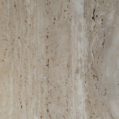 3 Ivory Travertine Vein Cut, Brushed Finish