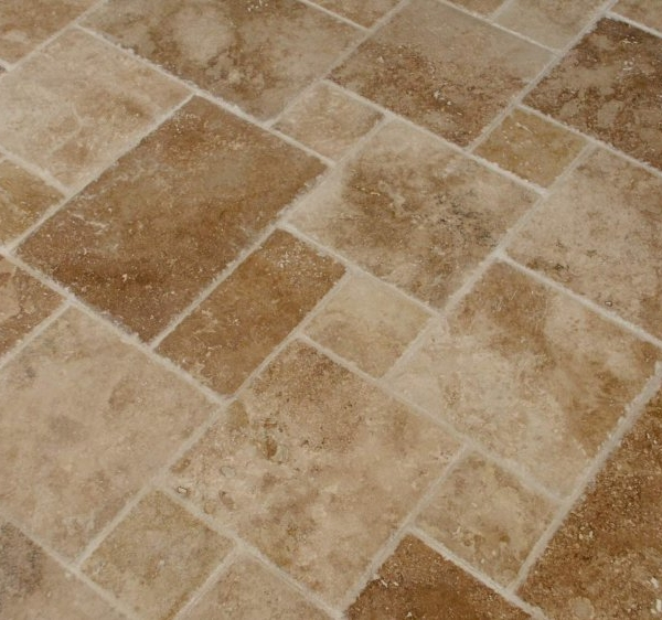 Noce Travertine, French Pattern