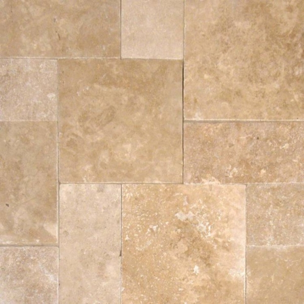 Walnut Travertine, French Pattern