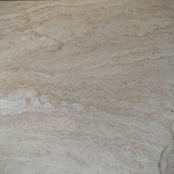 Cream River Travertine Filled and Honed