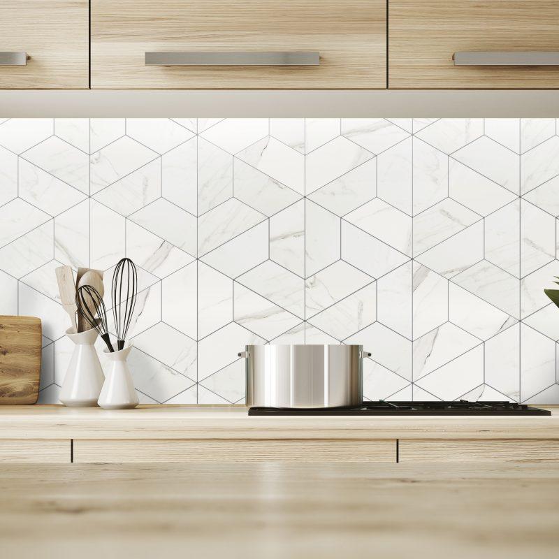 Delta Calacatta Porcelain Tile