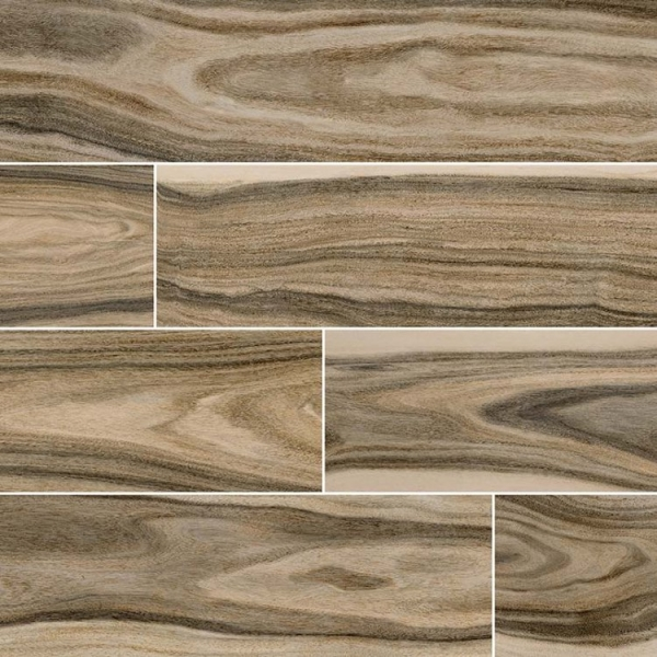 8x48 Tiger Wood Look Porcelain Tile