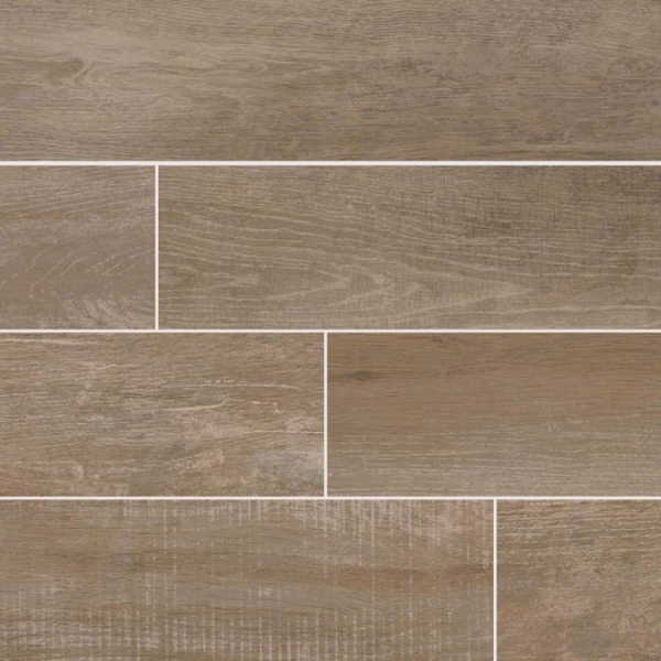 6x40 Barnwood Stable Wood Look Porcelain Tile