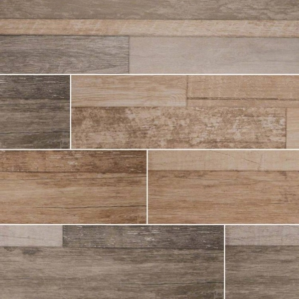 Beige Sierra Wood Look Porcelain Tile