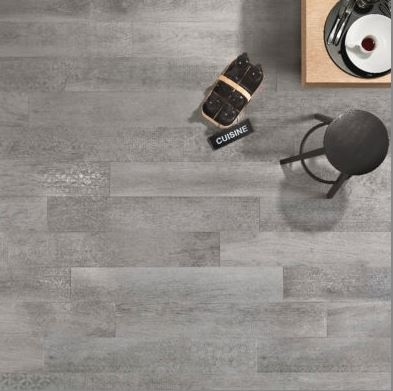 Nordek Grigio Decor Wood Look Porcelain Tile