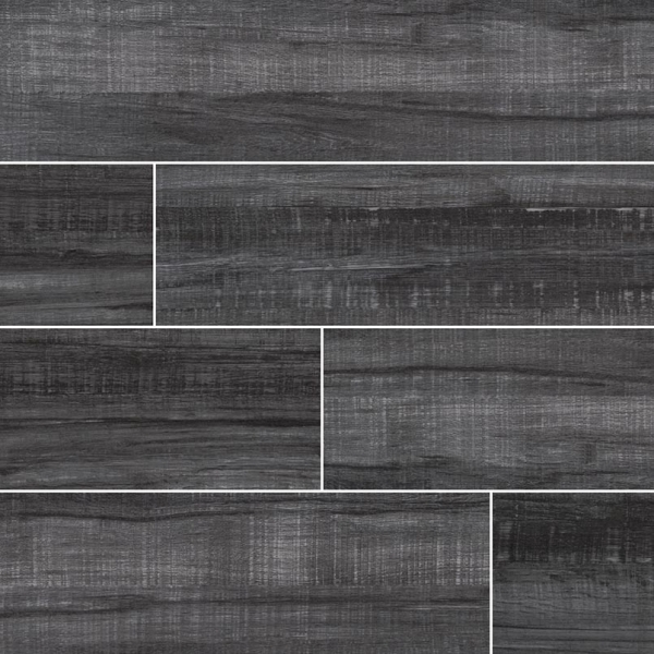 Obsidian-Belmond Wood Look Porcelain Tile