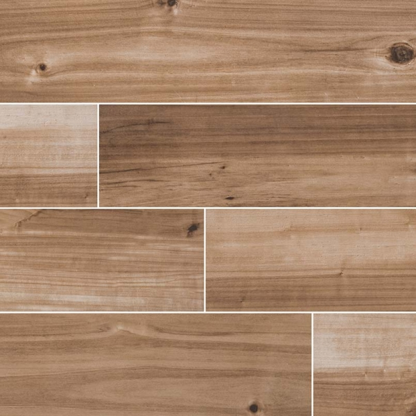 Saddle-Havenwood Wood Look Porcelain Tile