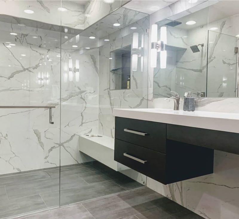 Curbless-Entry-Large-Format-Tile-Floating-Vanity