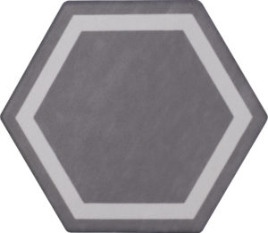 Exatarget Grigio Medio Hexagon Porcelain Tile