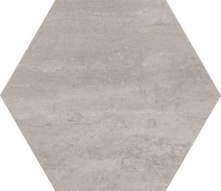 Concrete Almond Hexagon Porcelain Tile