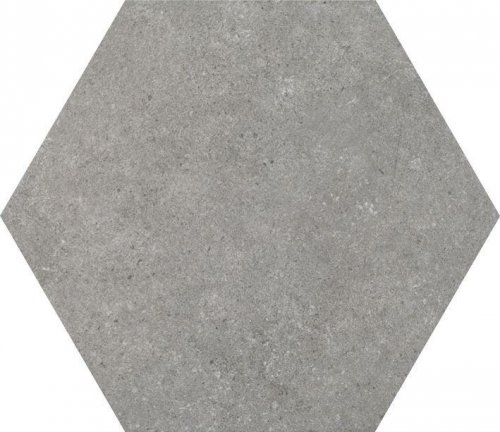 Traffic Grey Hexagon Porcelain Tile