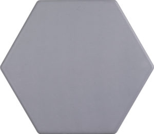 Grigio Medio Hexagon Porcelain Tile